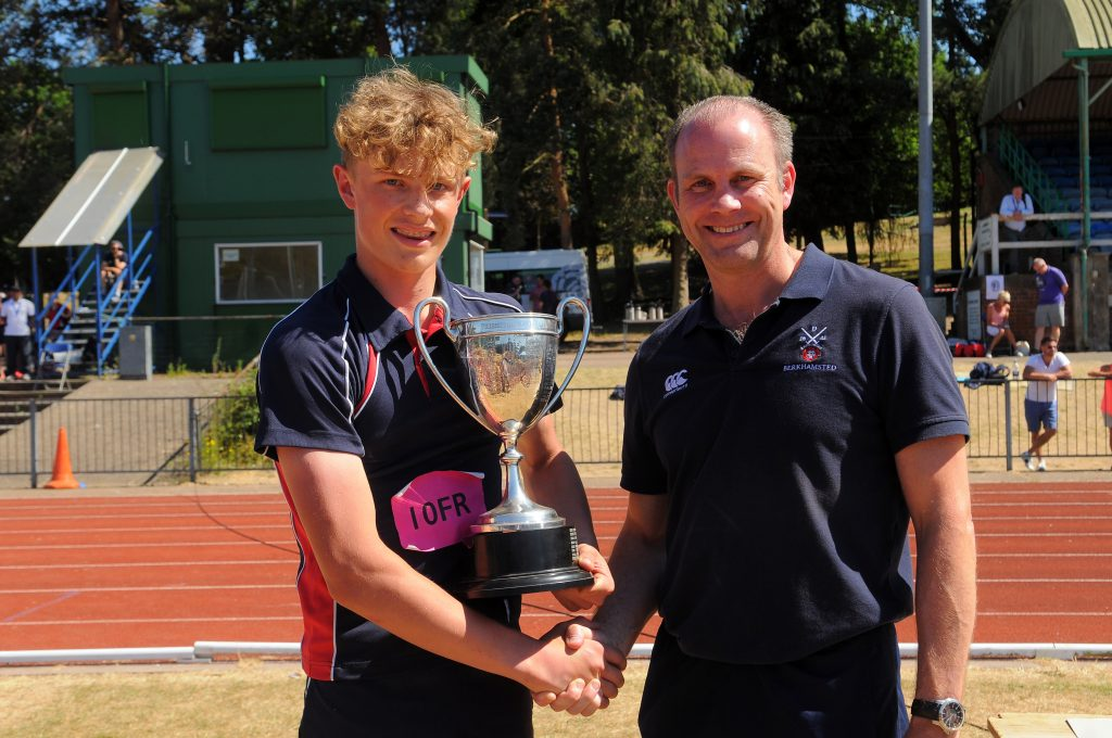 Berkhamsted Boys Sports Day Mr Richard Thompson
